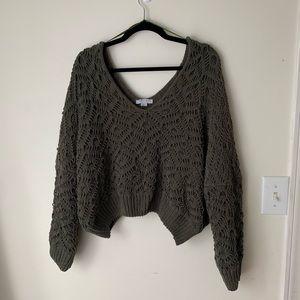 Favlux Green Sweater Large